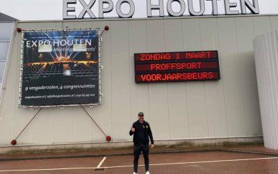 CarmeloYupi en Expo Houten